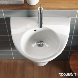Duravit Starck 2 hand washbasin white, with WonderGliss