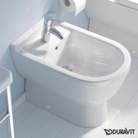 Duravit Starck 3 floorstanding bidet L: 56 W: 36 H: 38.5 cm with 1 tap hole, with overflow