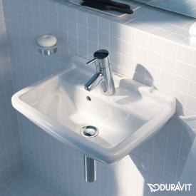 Duravit Starck 3 hand washbasin with 1 tap hole, with overflow