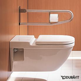 Duravit Starck 3 wall-mounted washdown toilet white, with HygieneGlaze