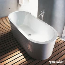 Duravit Starck freestanding oval bath with panelling