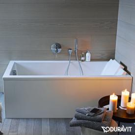 Duravit Starck rectangular bath, built-in or for panelling