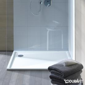 Duravit Starck Slimline square shower tray white, without Antislip