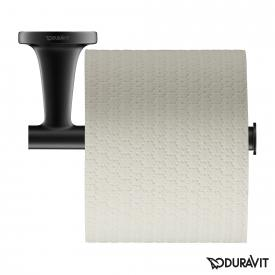 Duravit Starck T toilet roll holder matt black