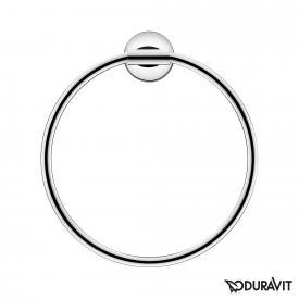 Duravit Starck T towel ring chrome
