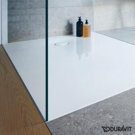 Duravit Tempano square/rectangular shower tray white, with Antislip