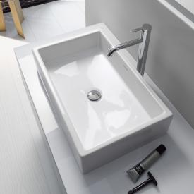 Duravit Vero Air countertop washbasin white, with WonderGliss