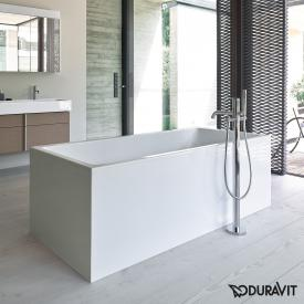 Duravit Vero Air freestanding rectangular whirlbath with panelling with Air-System