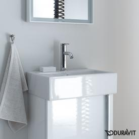 Duravit Vero Air hand washbasin white, with WonderGliss, with 1 tap hole, ungrounded, with overflow