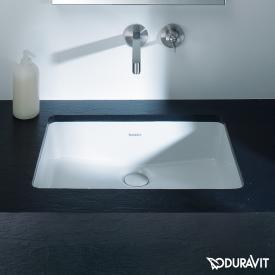 Duravit Vero Air undercounter washbasin white, with WonderGliss
