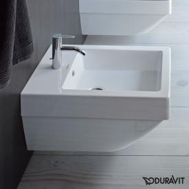 Duravit Vero Air wall-mounted bidet white, with WonderGliss