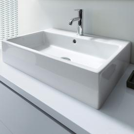 Duravit Vero Air washbasin white, with WonderGliss, with 1 tap hole, grounded, with overflow