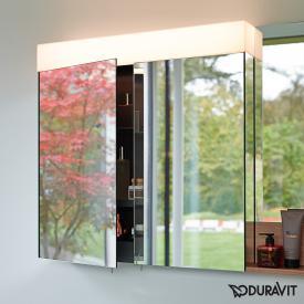 Duravit Vero mirror cabinet with LED lighting 2 sockets