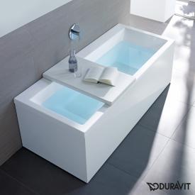 Duravit Vero rectangular bath, built-in or for panelling