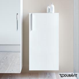 Duravit Vero tall unit white high gloss