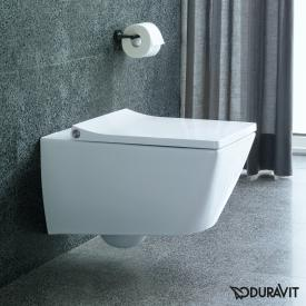 Duravit Viu wall-mounted, washdown toilet white, with WonderGliss