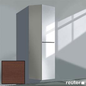 Duravit X-Large tall cabinet with 1 door front dark chestnut / corpus dark chestnut
