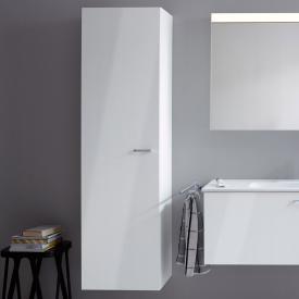 Duravit XBase tall unit front white gloss / corpus white gloss