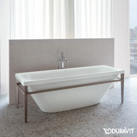 Duravit XViu freestanding rectangular bath