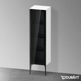 Duravit XViu medium unit with 1 glass door front parsol grey / corpus matt white, profile matt black