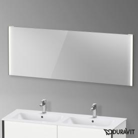 Duravit XViu mirror with LED lighting, sensor version matt black