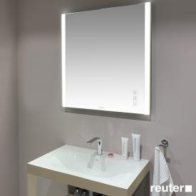 Duravit XViu mirror with LED lighting, icon version matt champagne