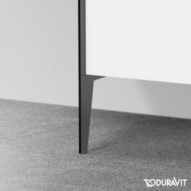 Duravit XViu plinth legs (2 pieces) matt black