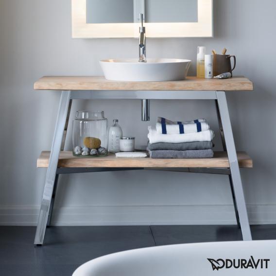 Duravit Cape Cod vanity unit vintage oak
