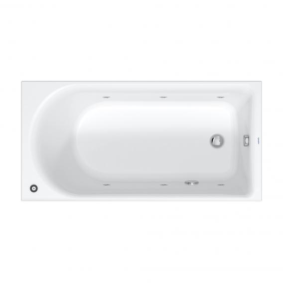 Duravit D-Neo rectangular whirlbath with jet system, built-in with jet system