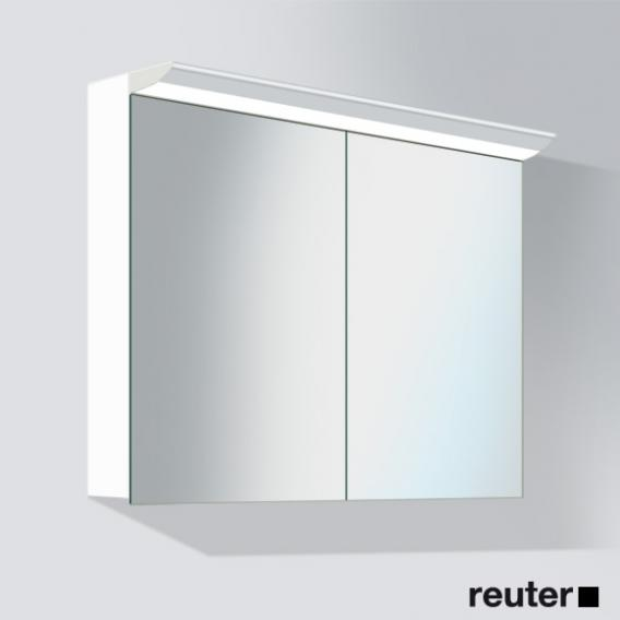 Duravit Darling New mirror cabinet with light front mirrored / corpus pine terra
