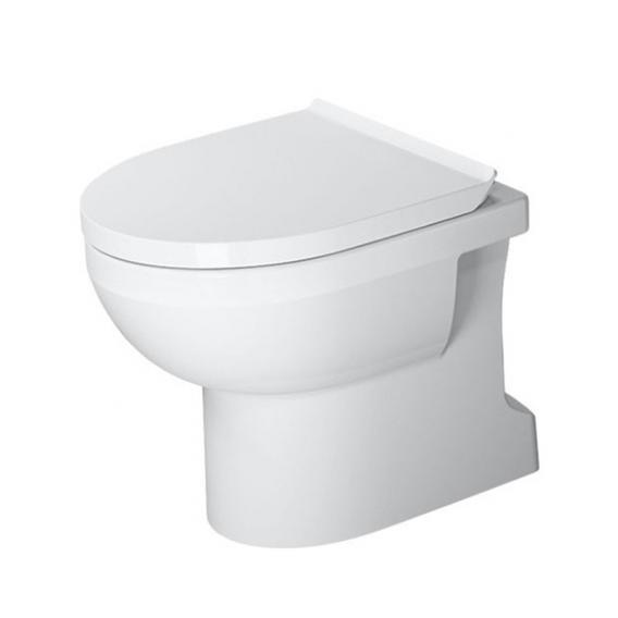 Duravit DuraStyle Basic floorstanding washdown toilet, rimless white, with WonderGliss
