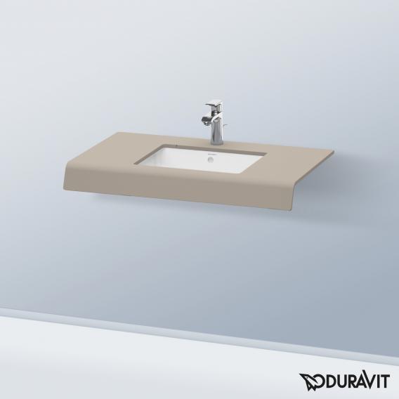 Duravit DuraStyle countertop for countertop washbasin / drop-in washbasin matt basalt