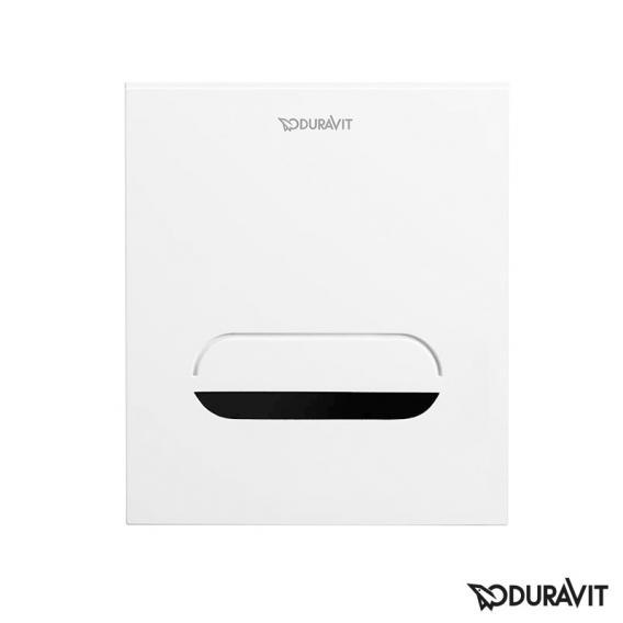 Duravit DuraSystem flush plate A2 for urinal, with IR sensor, 6V battery white/white
