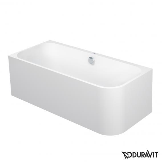 Duravit Happy D.2 corner bath with panelling for left corner