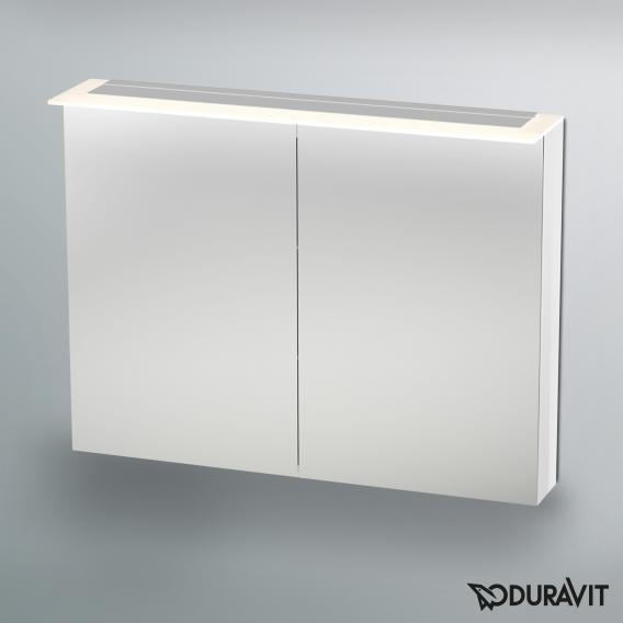Duravit Happy D.2 LED mirror cabinet white
