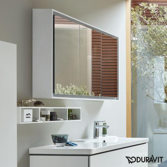 Duravit L Cube Mirror Cabinet With Led Lighting Without