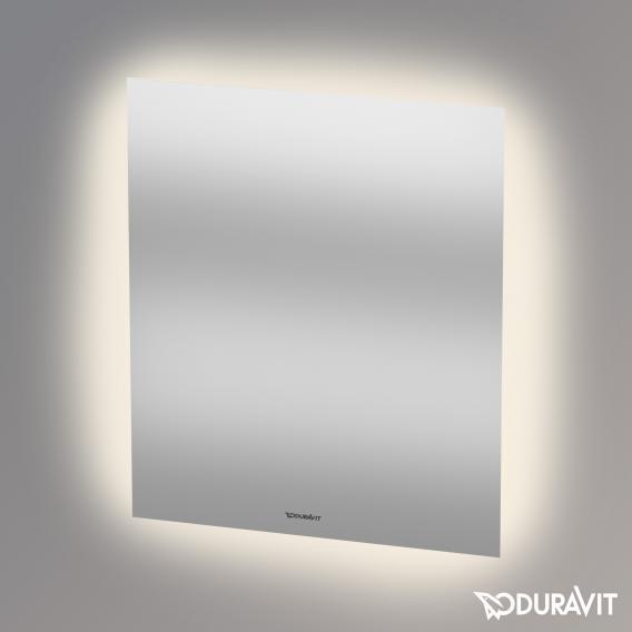 Duravit mirror with indirect LED lighting Good-Version