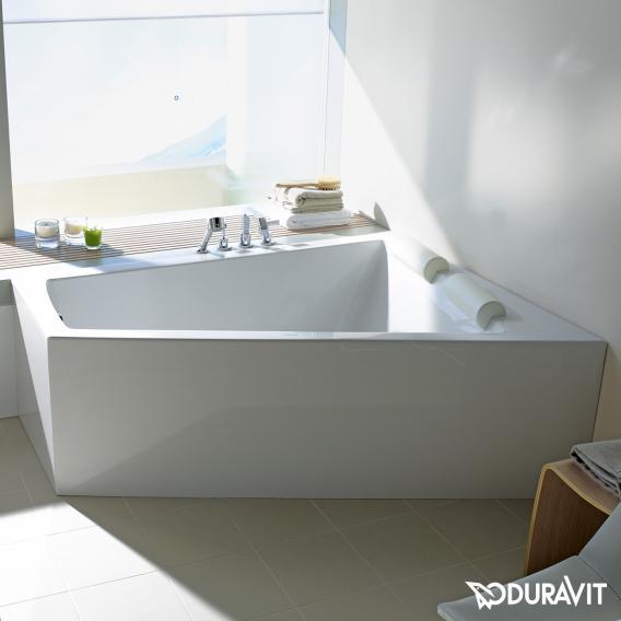 Duravit Paiova corner bath with panelling