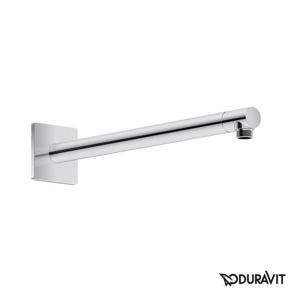 Duravit shower arm with square escutcheon
