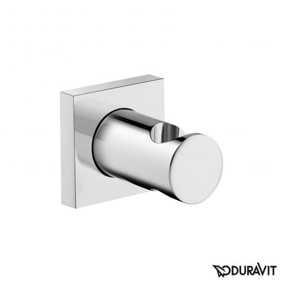 Duravit shower bracket with square escutcheon