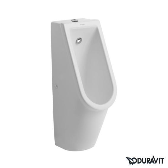 Duravit Starck 3 urinal, rimless white, top supply, with target