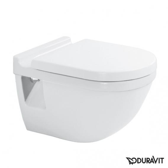 Duravit Starck 3 wall-mounted washout toilet, for GERMANY ONLY! white, with WonderGliss