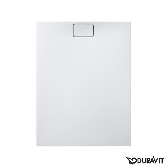 Duravit Stonetto rectangular shower tray white