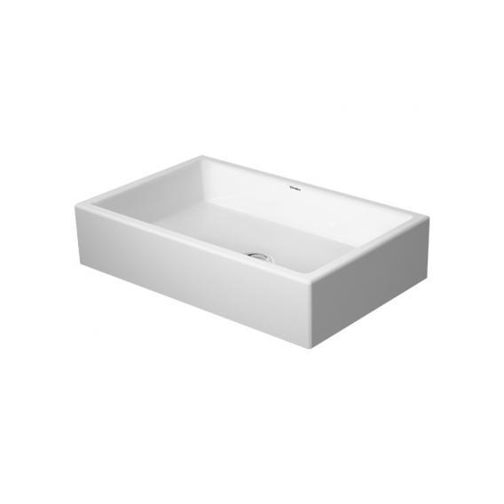 Duravit Vero Air countertop washbasin white, with WonderGliss