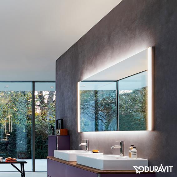 Duravit XSquare mirror with LED lighting