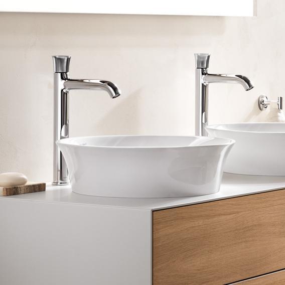 Duravt White Tulip countertop washbasin white