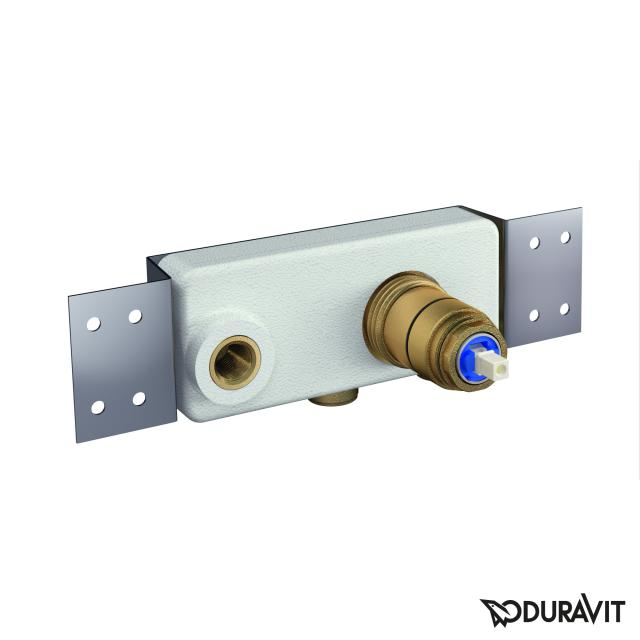 Duravit basic installation unit for concealed, single lever basin mixer