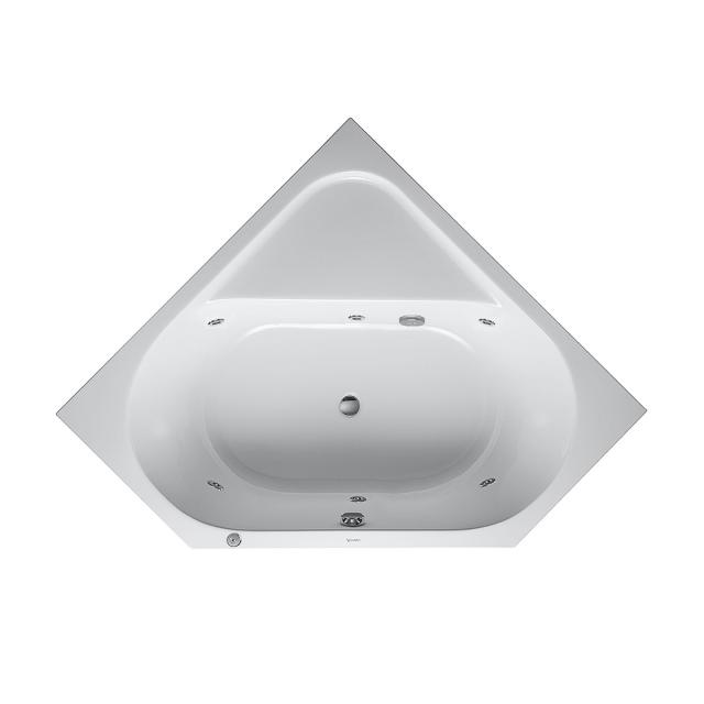 Duravit D-Code corner whirlbath, built-in with Jet System