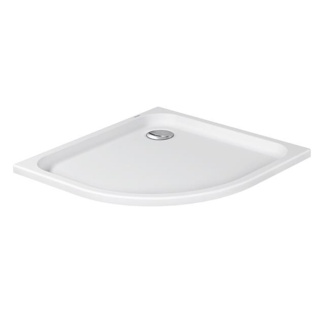 Duravit D-Code quadrant shower tray white