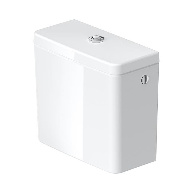 Duravit D-Neo close-coupled cistern connection top right/left, white